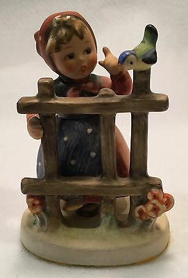 c.1960s Goebel HUMMEL Figurine No. 203 2/0 - SIGNS OF SPRING - TMK 4 - NICE!