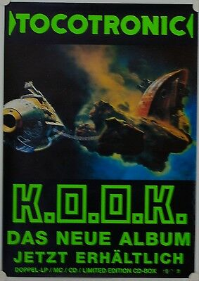 Affiche Groupe Rock TOCOTRONIC 1999