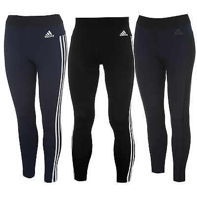 adidas Damen Leggings Tights Hose Sporthose Fitness Jogging Sport 3 Stripe 110