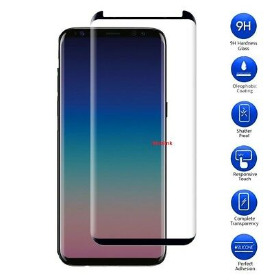 FULL SCREEN Face Curved TPU Screen Protector Cover for Samsung Galaxy S8