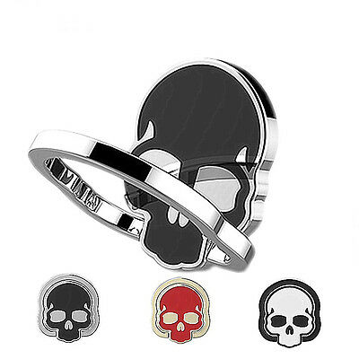 Skull Metal Phone Bracket Finger Ring Stand Mount Holder For Cell Phone Nice