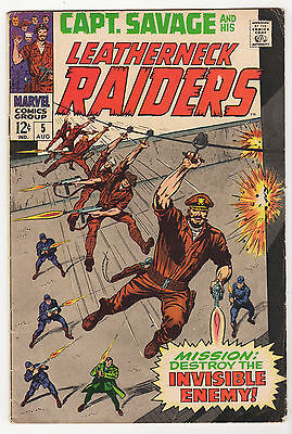 WAR LOT (12) VG/FN Capt. Savage GI Combat Kelly the Losers Fightin' Army 1968-77