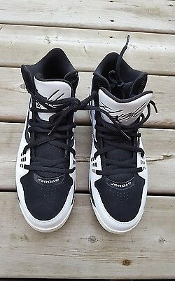 timeless design b85e7 5af80 Nike Air Jordan Flight 23 Rst Black White Basketball Shoes 9.5 512234-110