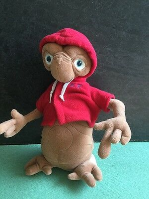 """New Red E.T. The Extra Terrestrial Soft plush  10""""  Bendy Arms"""