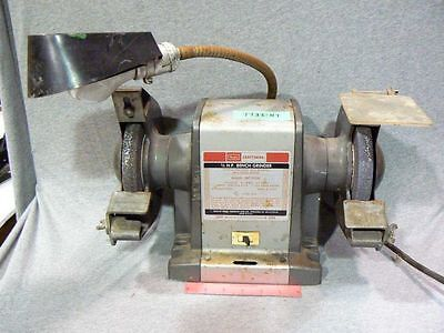 Tremendous Sears Craftsman 1 3 Hp Bench Grinder Model 397 19390 Evergreenethics Interior Chair Design Evergreenethicsorg