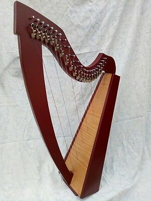 "HARP 22 Strings Made Of Solid Wood. ""NEW IMPROVED DESIGN"""