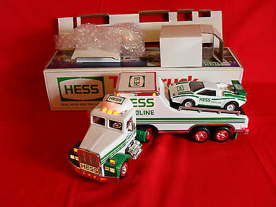 Hess Toy Truck and Racer 1991 NIB Lights Tested
