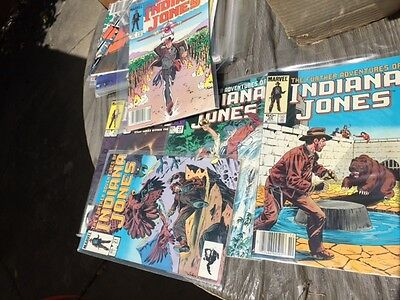 Marvel's INDIANA JONES Complete Comic Book Set 1-34 Lot 2 3 4 5 6 33 32 31 30 29