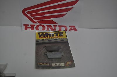 White brothers brake pads HONDA CR XR CRE 80 125 250 500 600  87-96 CR80 CR125