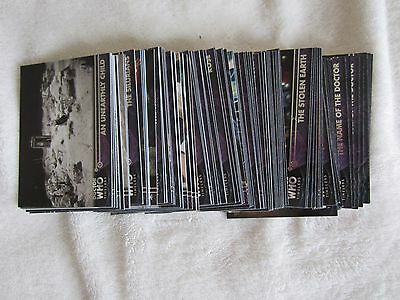 Topps Doctor Who TIMELESS Complete 100 card Base Set