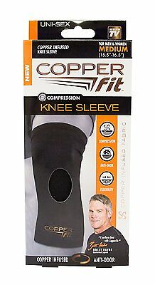 Knee Support Brace Copper Fit Compression Sleeve Tommie Fit Arthritis XX-Large