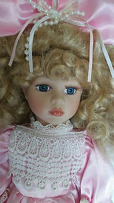 """The Collector's Choice by Dandee 18"""" Porcelain Doll"""