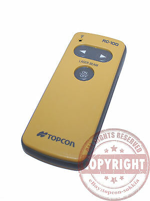 Topcon Rc-100 Pipe Laser Remote Control For Tp-L2 Pipe Laser