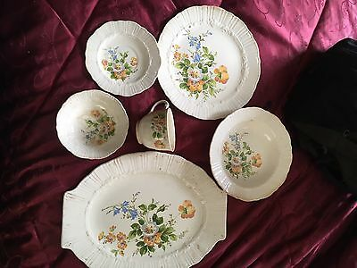 Antique 36 Pieces Of  Coronet Dish Set. Part Of Great Grandmothers Estate.