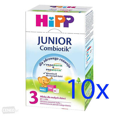 HiPP Organic Baby Formula Stage 4 (12-24 months) 10 BOXES - Shipping Worldwide