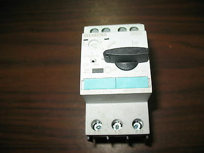 Siemens 3RV1021-1BA10 Manual Motor Starter (1.4 to 2.0 Amp)