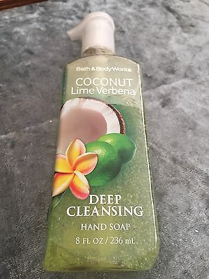 BBW Deep Cleansing Hand Soap Coconut Lime Verbena