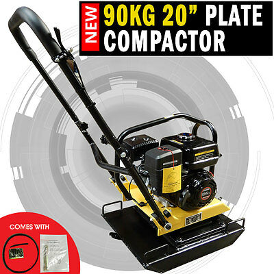 "NEW 90KG H-Power 20"" Genuine Loncin Powered Compactor Ductile Cast Iron Plate"