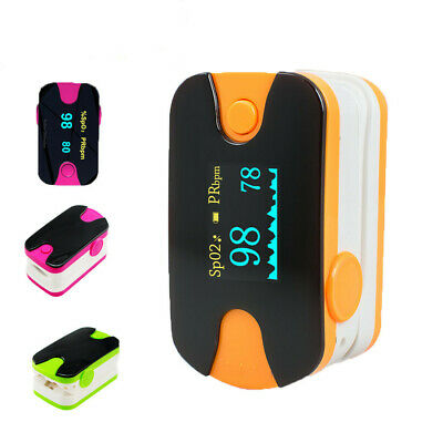 OLED Finger Display Oximeter Health Blood Oxygen Heart Rate Monitor SPO2 Pulse
