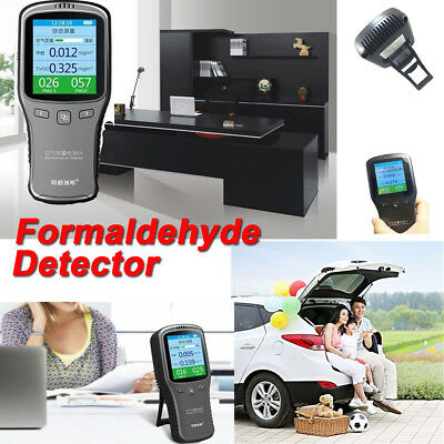 Household Indoor Laser Formaldehyde Detector HCHO TVOC PM2.5 Air Quality Tester