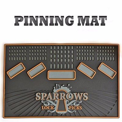 Sparrows Lockpicking Pinning mat 2.0