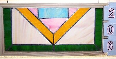 Contemporary stained glass window from England