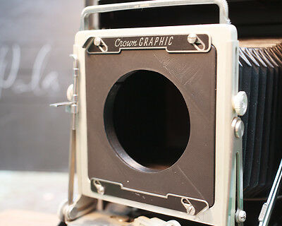 New lensboard for 200mm f/3.2 Buhl lens on Graflex Pacemaker Speed Graphic