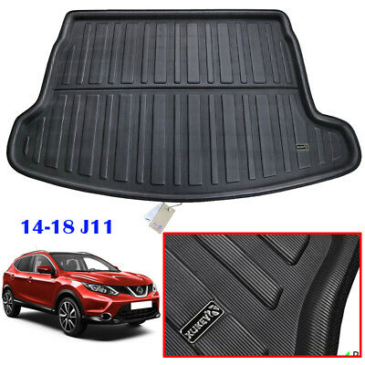 For Nissan Qashqai J11 14-19 Boot Mat Rear Trunk Cargo Liner Floor Tray Carpet
