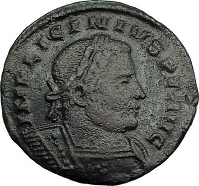 LICINIUS I 311AD London Londinium Mint Rare Authentic Ancient Roman Coin i63990