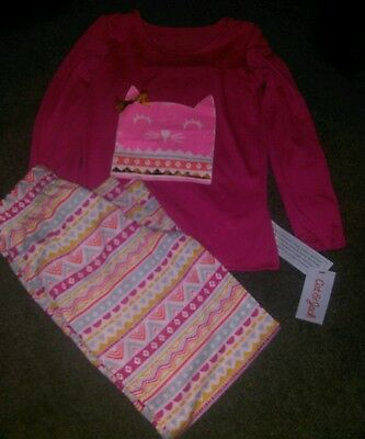 Girls 2pc pajama set size Medium 7/8 NWT