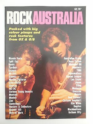 ROCK  AUSTRALIA  MAGAZINE - 1980's.....COUNTDOWN ... FULL PAGE PIC'S OF ARTISTS