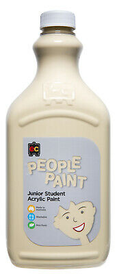 EC People Paint Junior Student Acrylic Non Toxic 2 Litre - Olive
