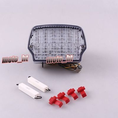 Motorcycle LED Tail Brake Running Light Turn Signals Taillight For BMW R100R ht