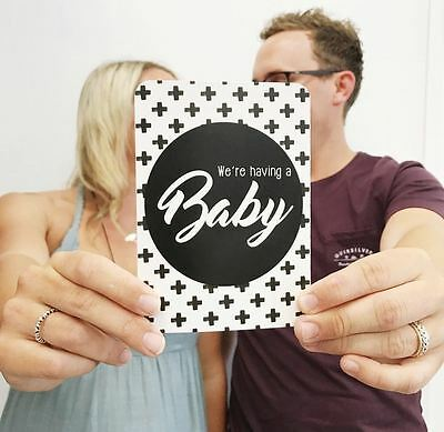 Pregnancy Milestone Cards - Pregnancy Announcement - Pregnancy Journal - Gift