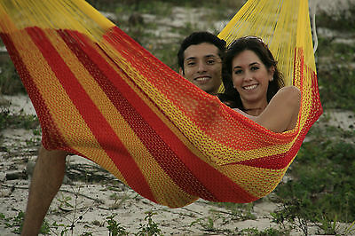 Mexican King Hammock - Handcrafted Cotton Comfort