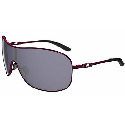 Oakley Collected Womens Sunglasses - Cayenne Red ~ Grey One Size