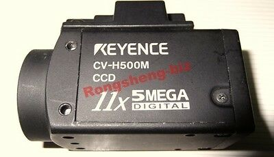 1PC Used KEYENCE CCD Industrial Camera CV-H500M  CVH500M #RS01