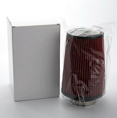 LARGE K&N red cone universal long air filter induction kit sports race car new