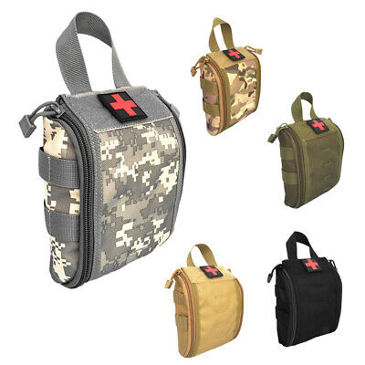 Outdoor Medical Pouch Bag Survival First Aid Patch MOLLE Utility Equipment