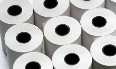 Thermal Paper Credit Card Machine Till Rolls ~ 57x40 mm 20 Rolls