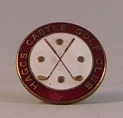 Haggs Castle Golf Club Badges x 2