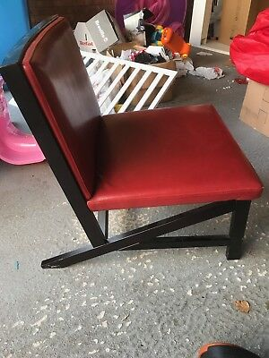 Retro Vintage Armchair Leather X2