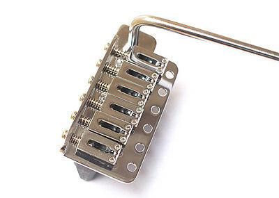 Gotoh GE102T Stratocaster Strat Tremolo Guitar Bridge • Chrome • Left Handed