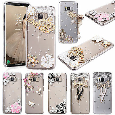 Samsung Galaxy Note 8/5/4 Clear Cases Covers Cell Phone Accessories Girls Clear