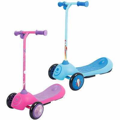 iScoot Electric Scooter E-Tron Kids Boys Girls 3 Wheel Twist & Turn Rechargeable