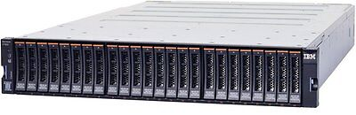 IBM Storwize 2076-124 V7000 Enclosure Dual Controllers and  x 24 disques 900Go