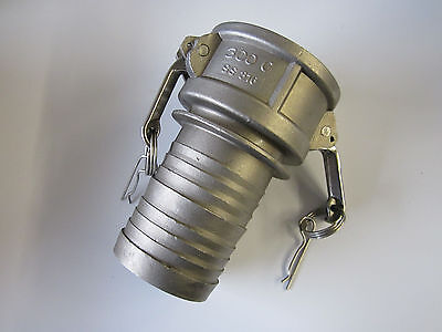 "316 Stainless Steel 3"" Camlock Hose Fitting 300C NOS"