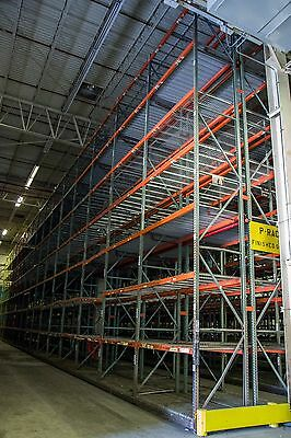 36' Teardrop High Bay Pallet Racks