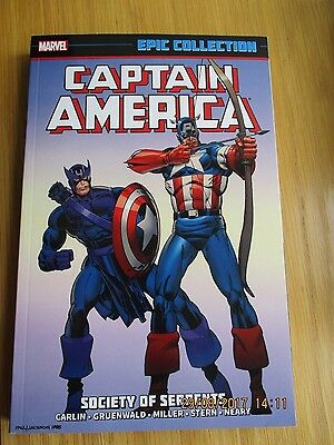 Captain America: Society of Serpents Epic Collection Volume 12 used