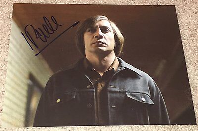 JAVIER BARDEM SIGNED AUTOGRAPH NO COUNTRY FOR OLD MEN 8x10 PHOTO B w/PROOF